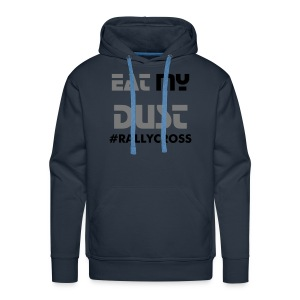 eat my dust - Sweat-shirt à capuche Premium pour hommes