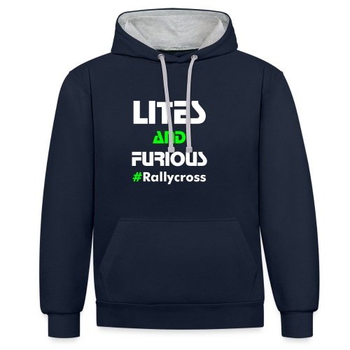 LITES and FURIOUS - Sweat-shirt contraste