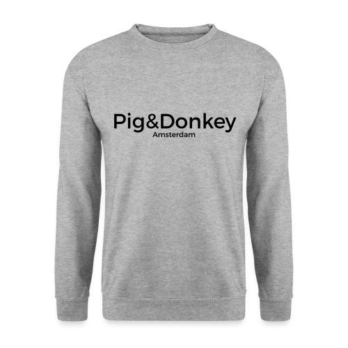 Heren Trui Pig&Donkey Grijs - Mannen sweater