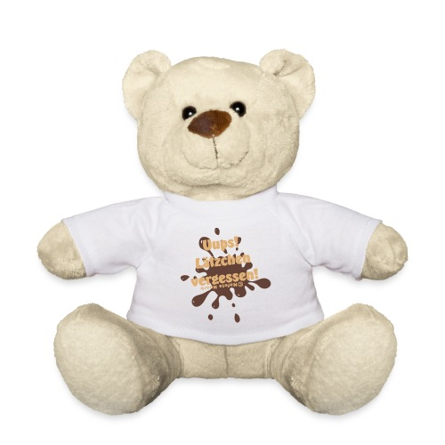 Teddie - Uuups, Lätzchen vergessen - Teddy