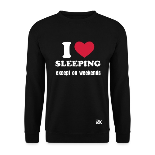 sweathsirt homme I love sleeping - Sweat-shirt Homme
