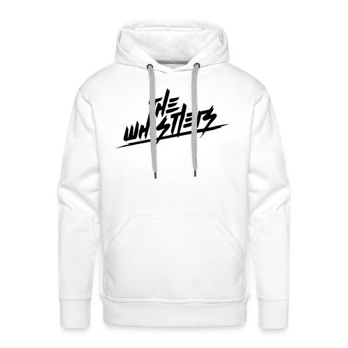 The Whistlers (FRONT LOGO WHITE SWEATSHIRT) - Sudadera con capucha premium para hombre