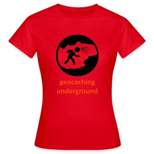 geocaching underground ladies - Frauen T-Shirt