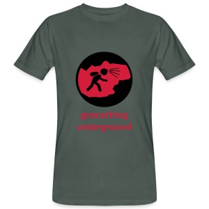 Geocaching Underground  - Männer Bio-T-Shirt