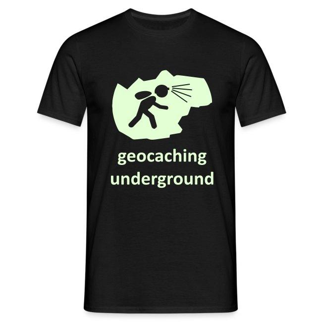 geocaching underground glow