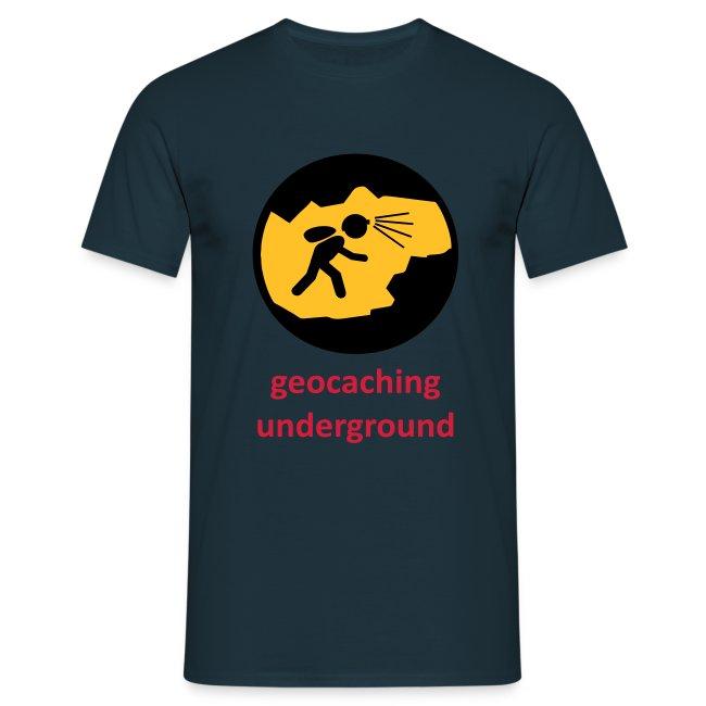 geocaching underground dreifarbig