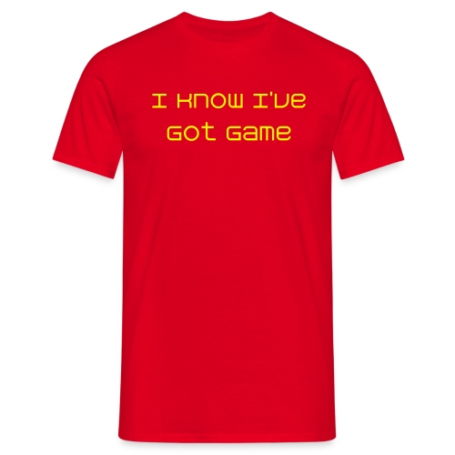Men's I Know I've Got Game Shirt - Men's T-Shirt
