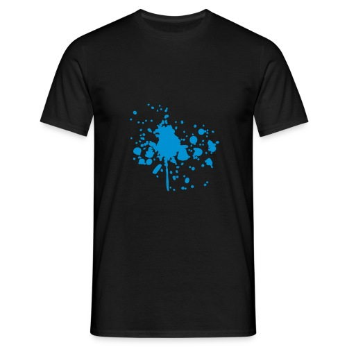 Herr t-shirt *paint* - T-shirt herr