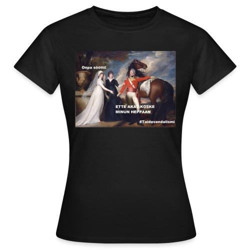 Söötti heppa T-paita (naisten) - Naisten t-paita
