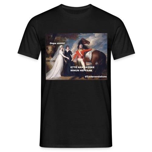 Söötti heppa T-paita (miesten) - Miesten t-paita