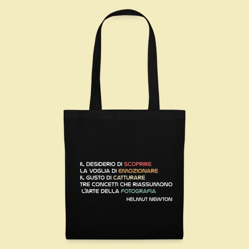 Shop Bag Helmut Newton - Borsa di stoffa