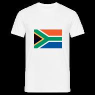 T-shirts ~ Mannen T-shirt ~ Zuid-Afrika