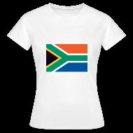 T-shirts ~ Vrouwen T-shirt ~ Zuid-Afrika