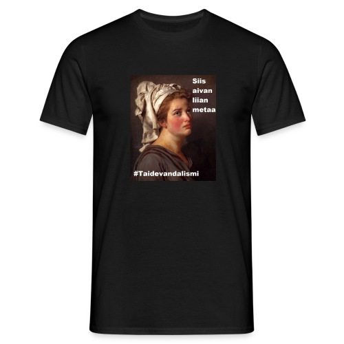 Aivan liian metaa T-paita (miesten) - Miesten t-paita