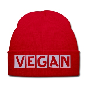 Vegan Winter Hat - red - Winter Hat