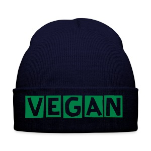 Vegan Winter Hat - navy - Winter Hat