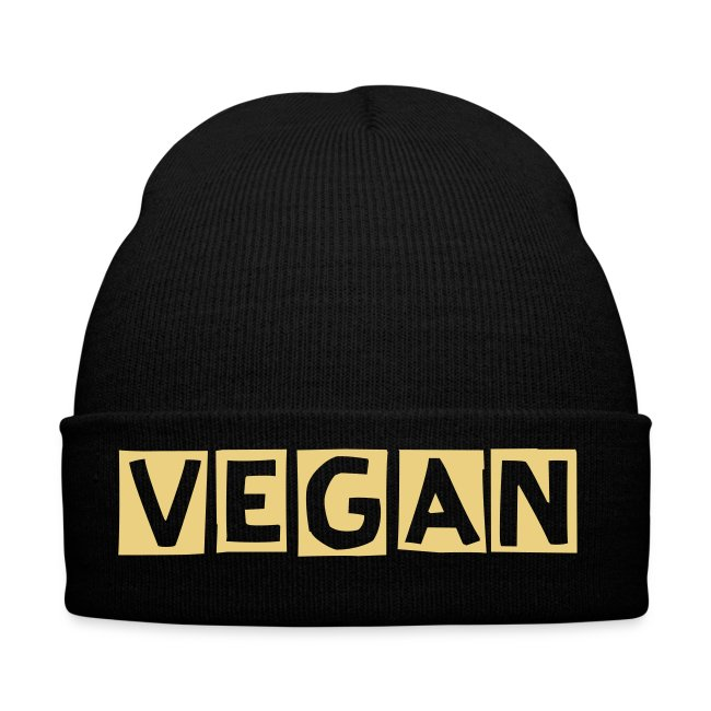 Vegan Winter Hat - green
