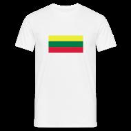 T-shirts ~ Mannen T-shirt ~ Litouwen