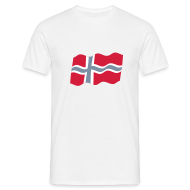 T-shirts ~ Mannen T-shirt ~ Noorwegen