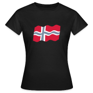 T-shirts ~ Vrouwen T-shirt ~ Noorwegen