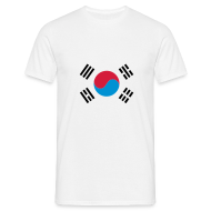 T-shirts ~ Mannen T-shirt ~ Zuid-Korea