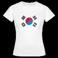 T-shirts ~ Vrouwen T-shirt ~ Zuid-Korea