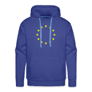 Sweaters ~ Mannen Premium hoodie ~ Europese Unie