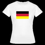 T-shirts ~ Vrouwen T-shirt ~ Duitsland