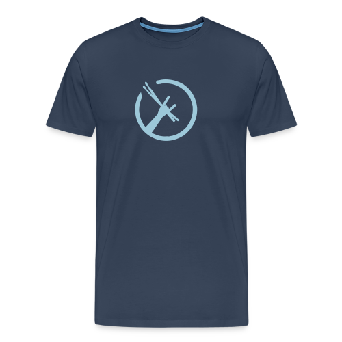 Drummers Metal Fork T-Shirts - Männer Premium T-Shirt