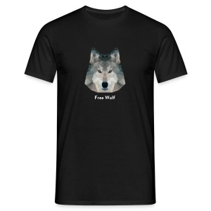 Free Wolf - T-shirt Homme