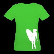 T-Shirts ~ Frauen Bio-T-Shirt ~ surfgirl