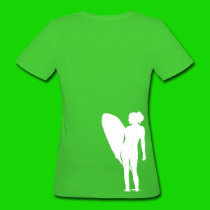 surfgirl  - Frauen Bio-T-Shirt