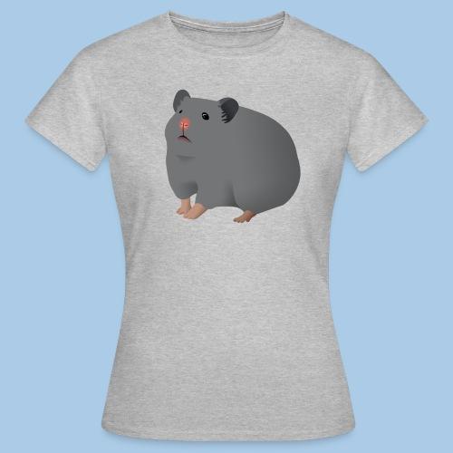 T-paita sinisellä syyrianhamsterilla - Naisten t-paita