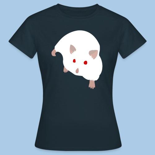 T-paita albiino campbellilla - Naisten t-paita