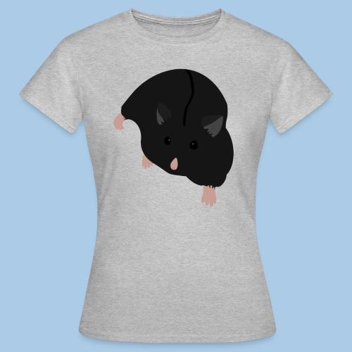 T-paita mustalla campbellilla - Naisten t-paita