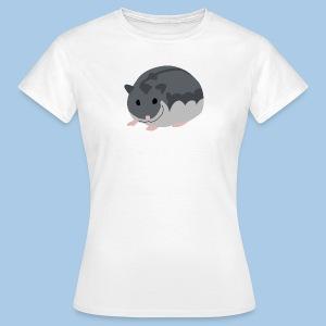 T-paita safiirilla talvikolla - Naisten t-paita