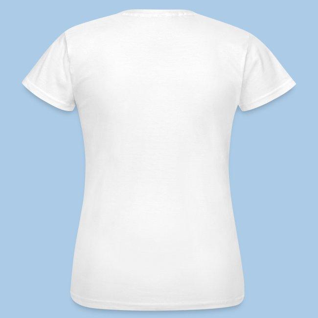 T-paita safiirilla talvikolla