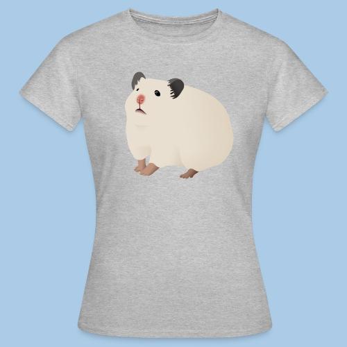 T-paita luonnonvalkoisella syyrianhamsterilla - Naisten t-paita