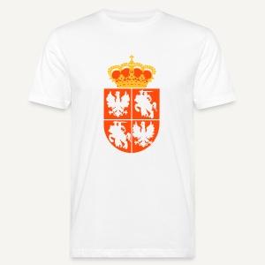 Herb Rzeczpospolitej Obojga Narodów - Ekologiczna koszulka męska