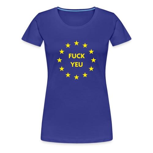EU Shirt Europe - Vrouwen Premium T-shirt