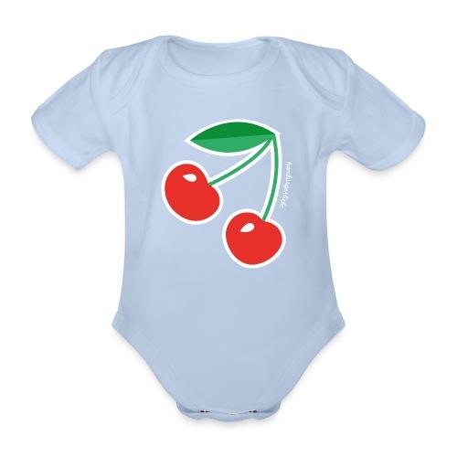 Cherries - Body - Baby Bio-Kurzarm-Body