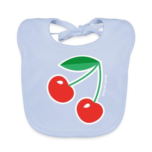 Cherries - Lätzchen - Baby Bio-Lätzchen