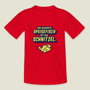 spassprediger.de presents: Lecker Fisch - das Original - Kinder T-Shirt