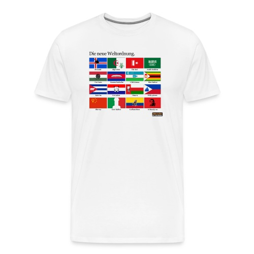 Die neue Weltordnung T-Shirt - Männer Premium T-Shirt