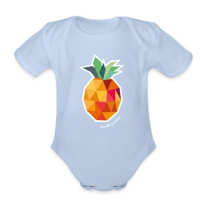 Pineapplelada - Body - Baby Bio-Kurzarm-Body