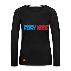 T-Shirt Easy Mode by ErIO - T-shirt manches longues Premium Femme