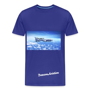 DawsonAviation Mens T-Shirt - Men's Premium T-Shirt