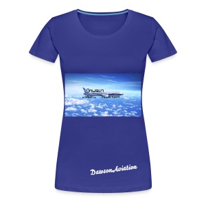 DawsonAviation Womans T-Shirt - Women's Premium T-Shirt