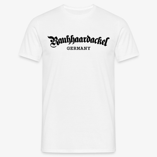 Rauhhaardackel Germany - Männer T-Shirt