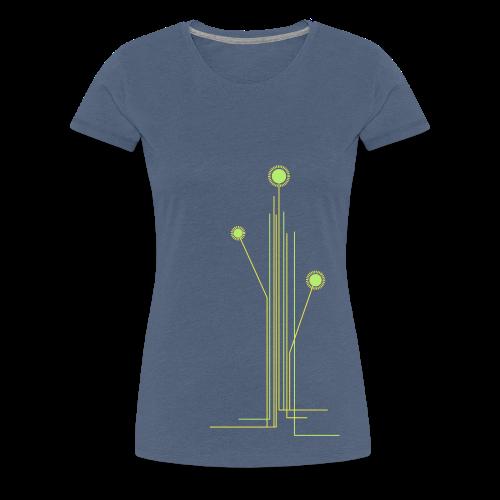 Blumenwiese - Frauen Premium T-Shirt